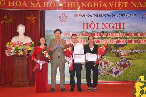 Truong Dai hoc Hung Vuong dat giai cao trong Cuoc thi thiet ke san pham luu niem, qua tang du lich Phu Tho nam 2019