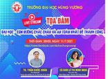 """20h00 Chu Nhat ngay 11/7/2021, Toa dam truc tuyen """"Dai hoc - Con duong chac chan va an toan nhat de thanh cong"""""""