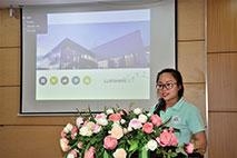 Hoi nghi tong ket thuc tap cac lop K14 Dai hoc nganh Ngon ngu Anh va Ngon ngu Trung Quoc nam hoc 2019 - 2020