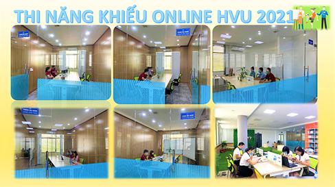 Truong Dai hoc Hung Vuong to chuc ky thi nang khieu tuyen sinh nam 2021 bang hinh thuc truc tuyen
