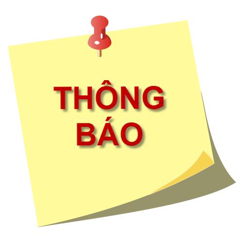 Thong bao ve viec phan cong lanh dao truong, vien chuc truc dip nghi Le 30/4 - 01/5/2021